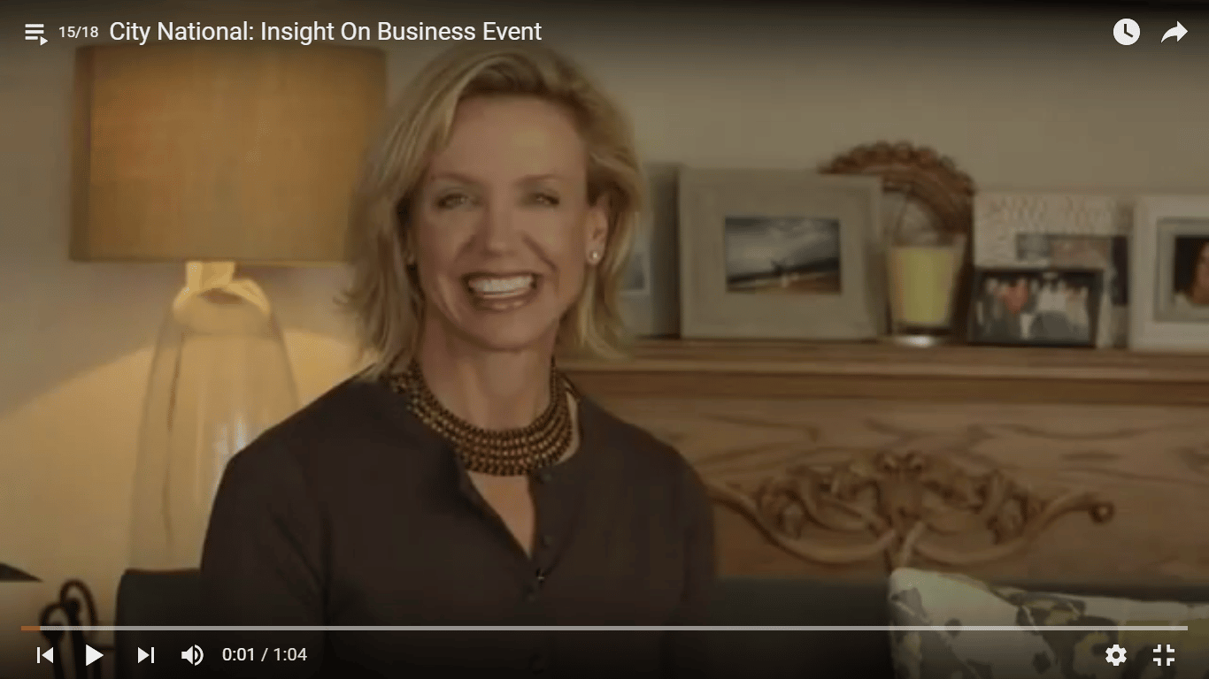 City National Bank Insight on Business Event