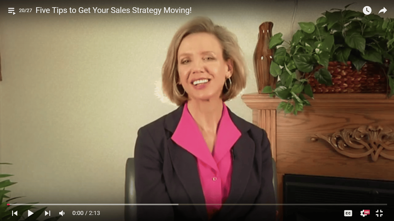 Five Tips to Get Your Sales Strategy Moving!