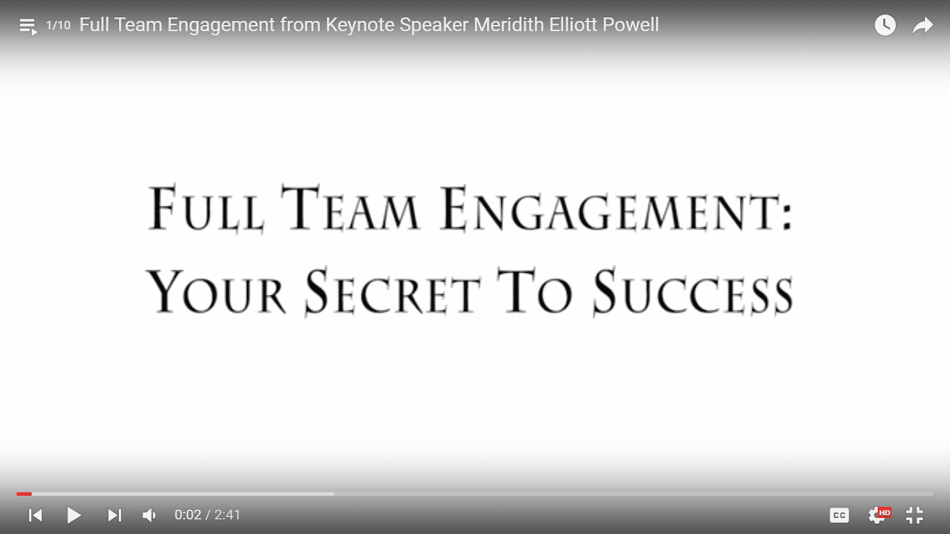Full Team Engagement: Your Secret To Success
