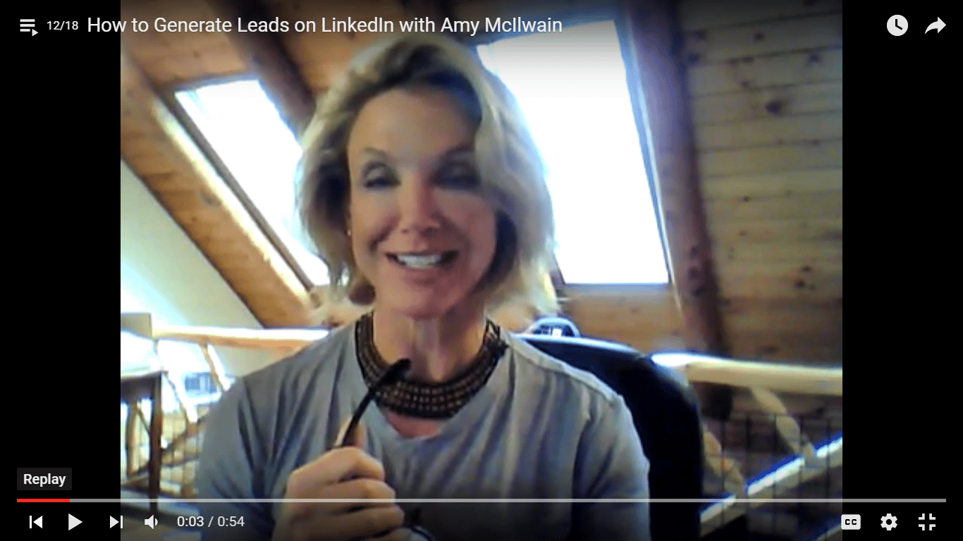Generate Leads on LinkedIn with Amy McIlwain