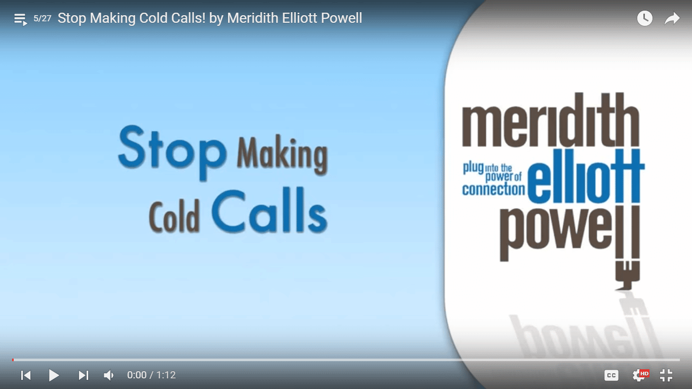 Stop Making Cold Calls